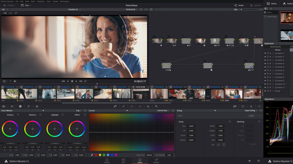 Color Grading in Davinci Resolve