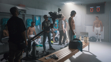 Shooting in locker room with Rene Krhin